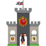 Little Timbers Knights Castle Pendulum Clock